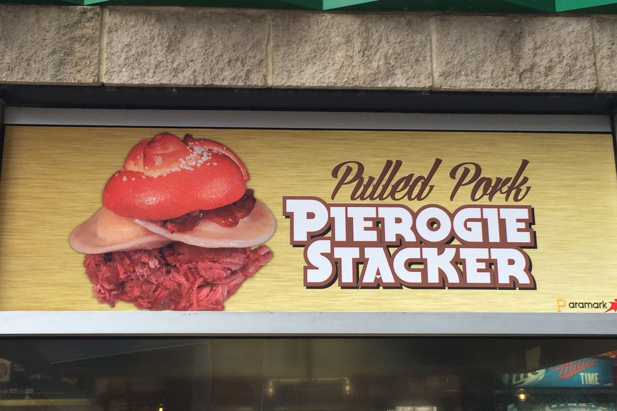Pulled Pork Pierogie Stacker