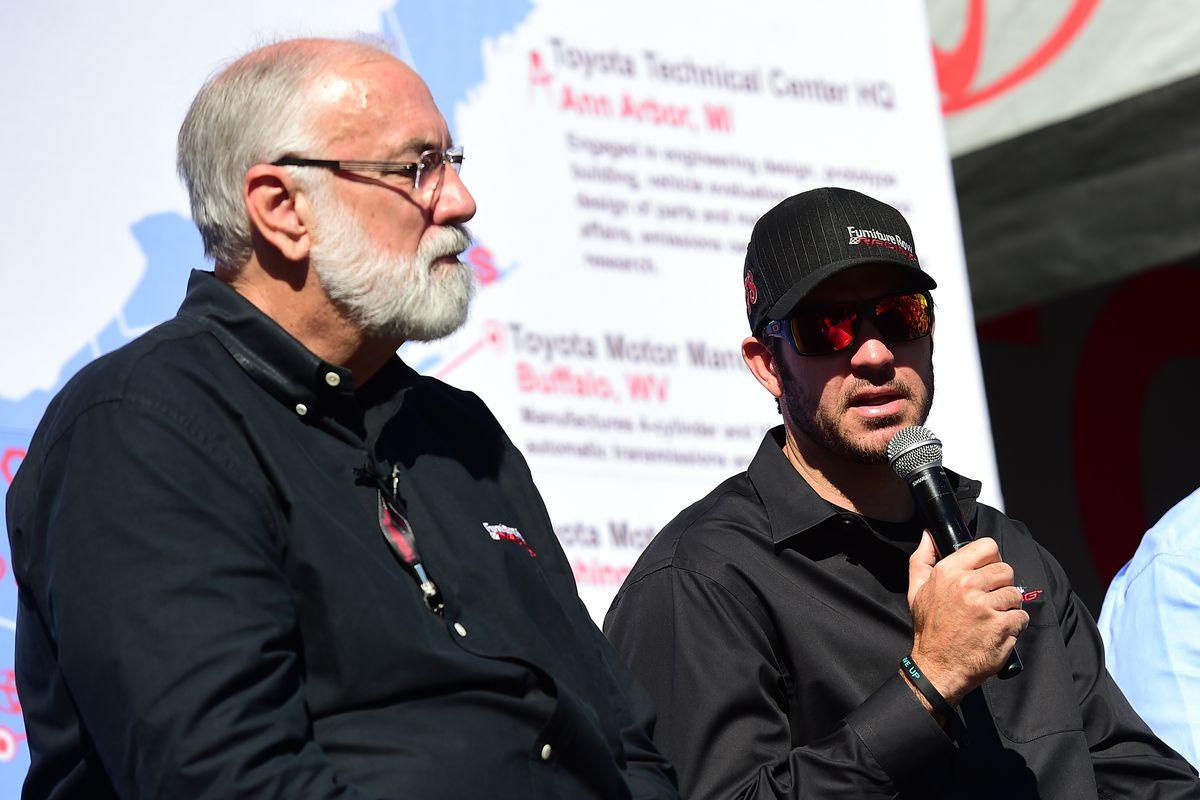 Furniture Row Racing Team Owner Barney Visser Recovering