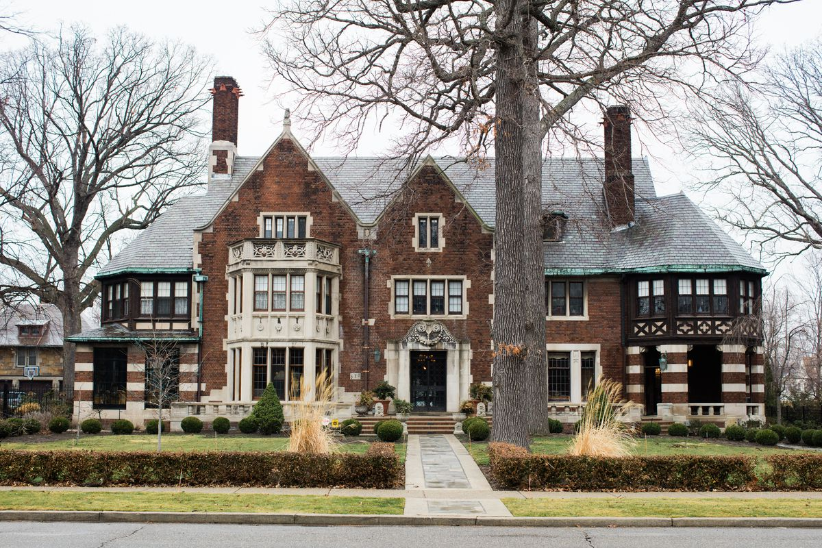The Fisher Mansion in the Historic Boston Edison District