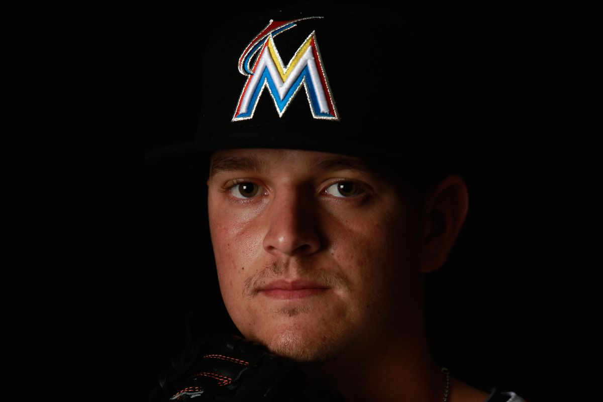 Marlins portsider Justin Nicolino brought his A game yesterday, striking out a probable season high four batters.
