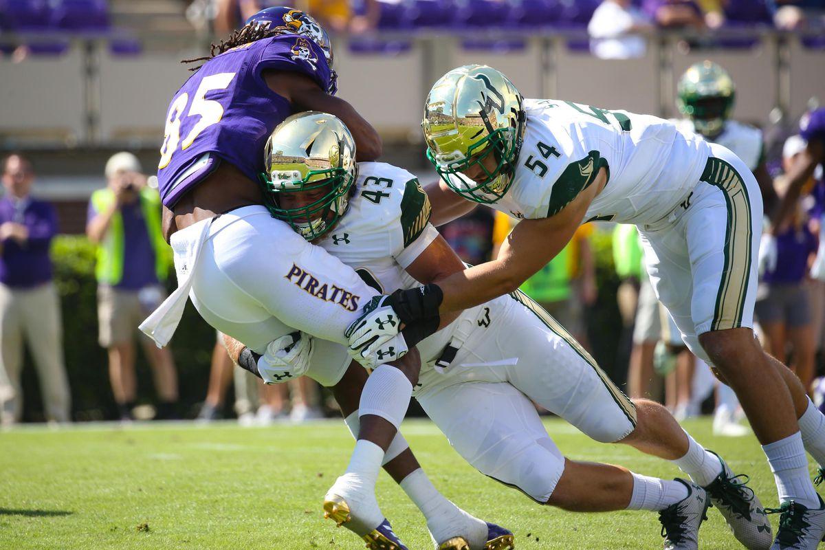NCAA Football: South Florida at East Carolina