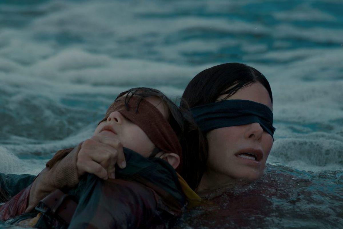'Bird Box': Sandra Bullock at her best in a thriller of blinding skill