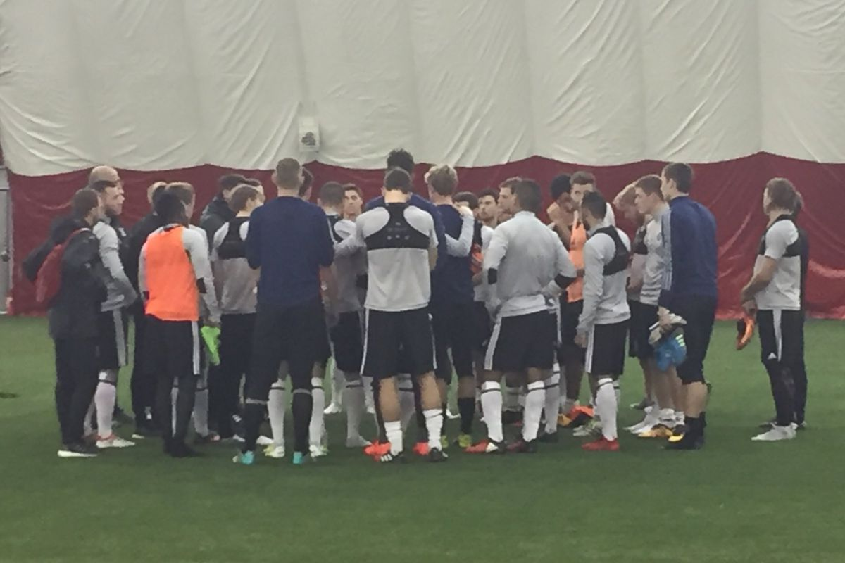 Chicago Fire Training Session on 1/25/17