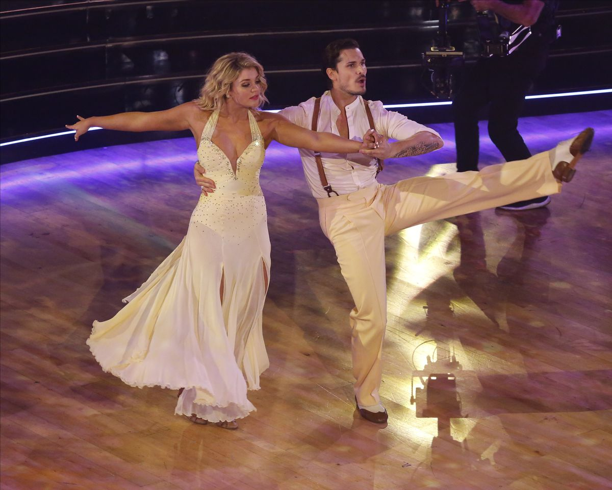 """Singer Lauren Alaina and her pro partner Gleb Savchenko compete on the 2019 season of """"Dancing with the Stars."""""""