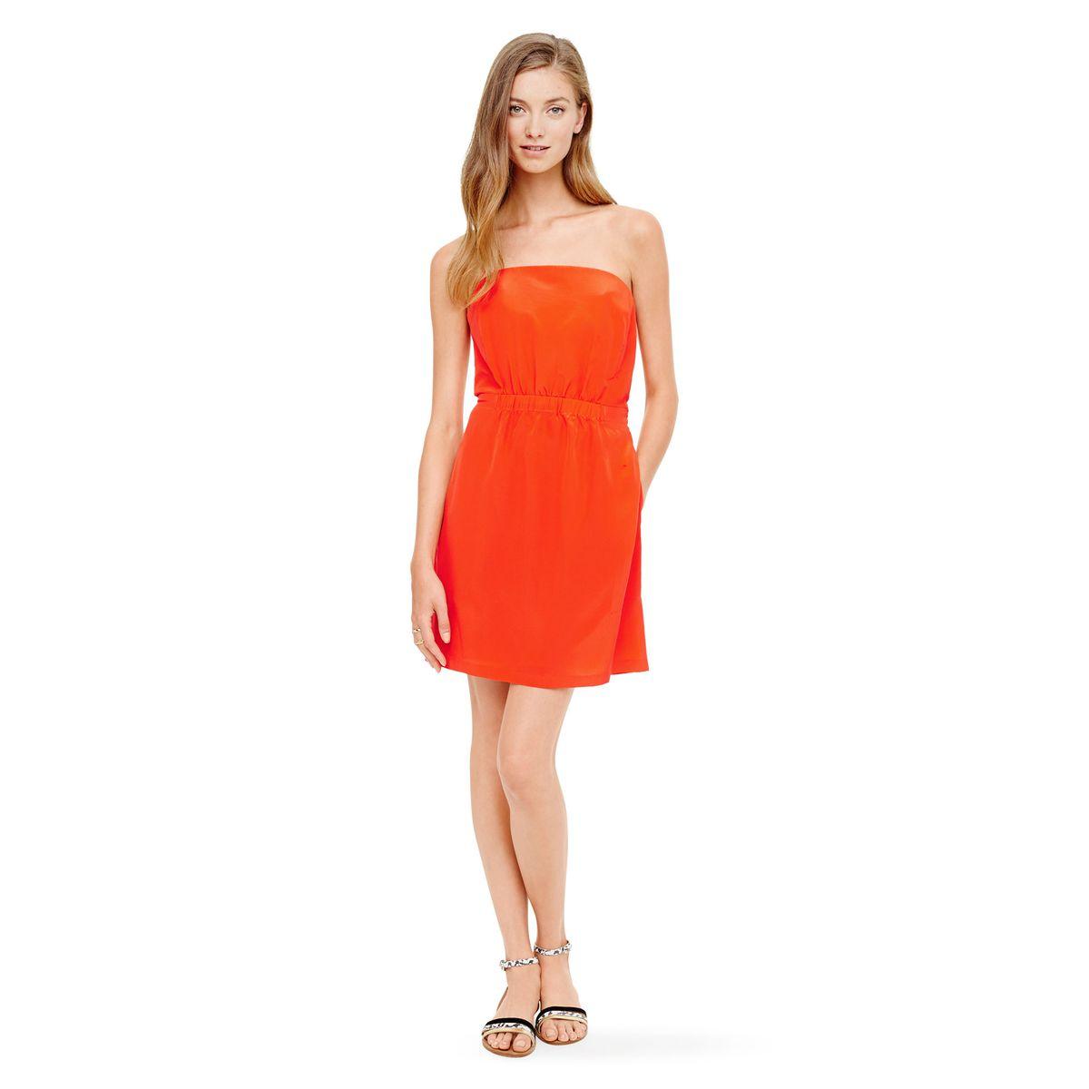 Club Monaco Adeline Strapless Dress, $159