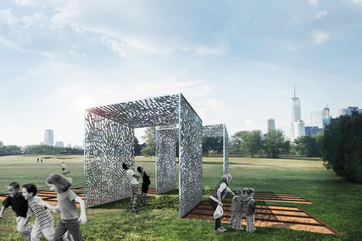 Governors Island S 2017 City Of Dreams Pavilion Will Be