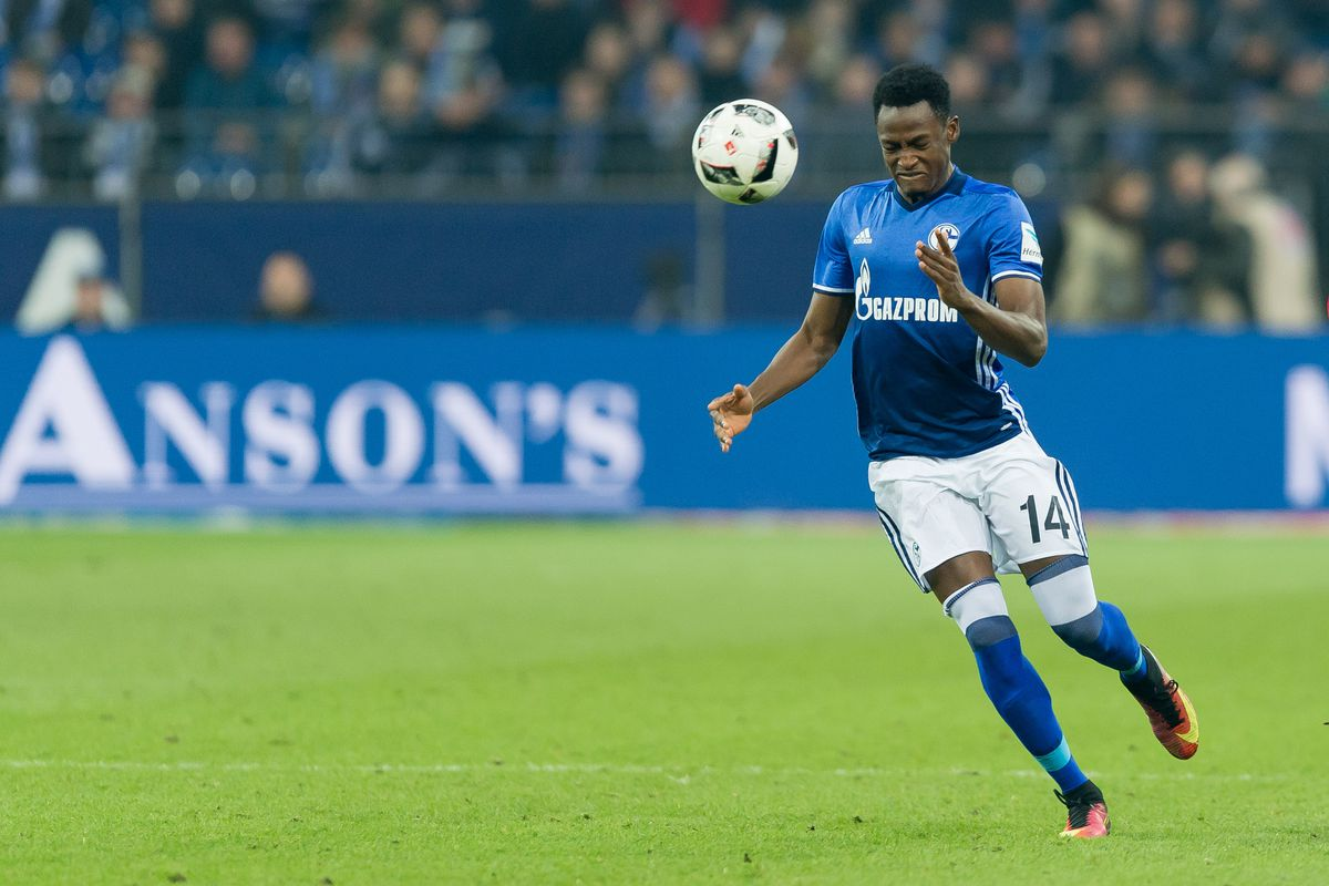 Schalke officials in London to finalise loan deal Baba Rahman
