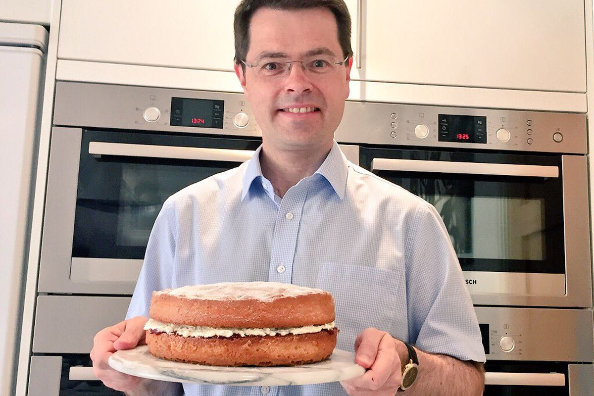 James Brokenshire is a Conservative MP with four ovens