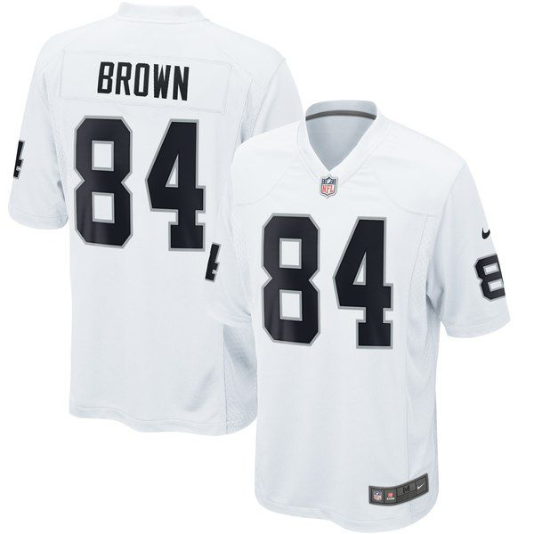 Wholesale Antonio Brown Raiders jersey is now a reality and it's beautiful  hot sale