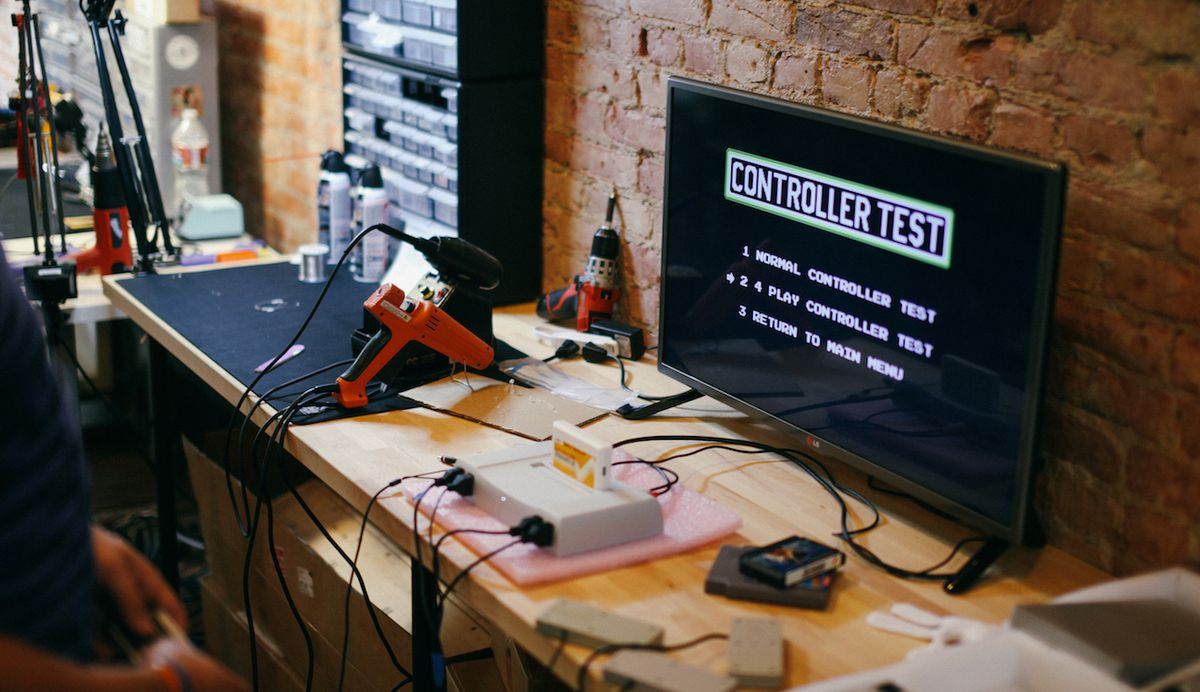 How Analogue Remade The Super Nintendo Polygon Circuit Classics Printed Board Kits Based On Classic Projects Team Testing Nt In 2015 Using Same Software Used To Test Original Nes 80s Christopher Taber