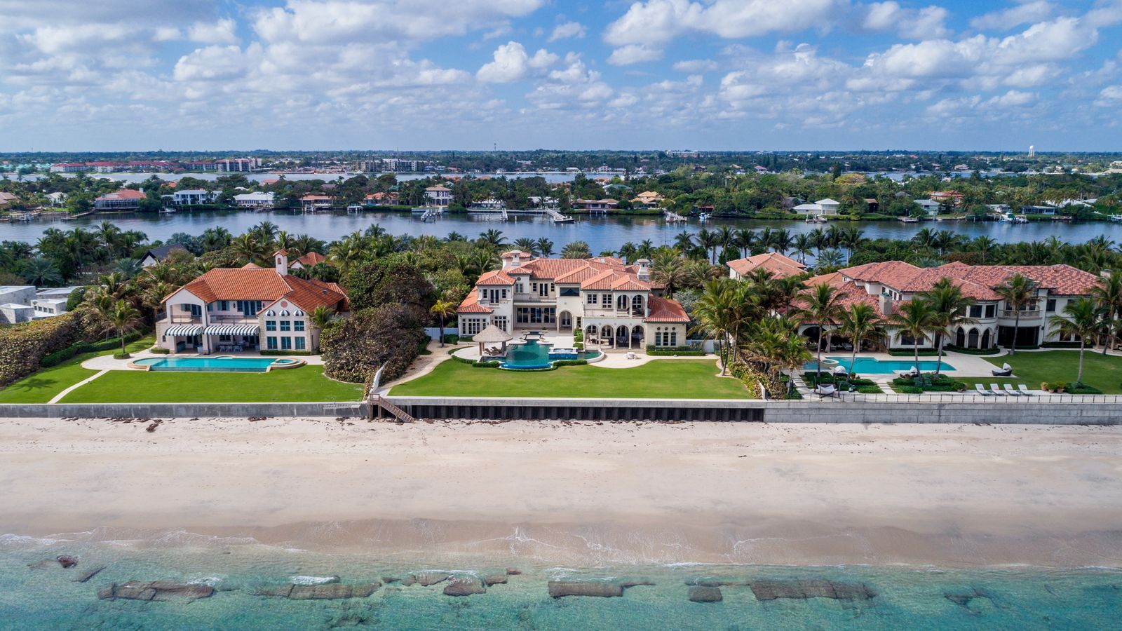 Oceanfront Mansion In Manalapan Reduced To 24m Curbed Miami