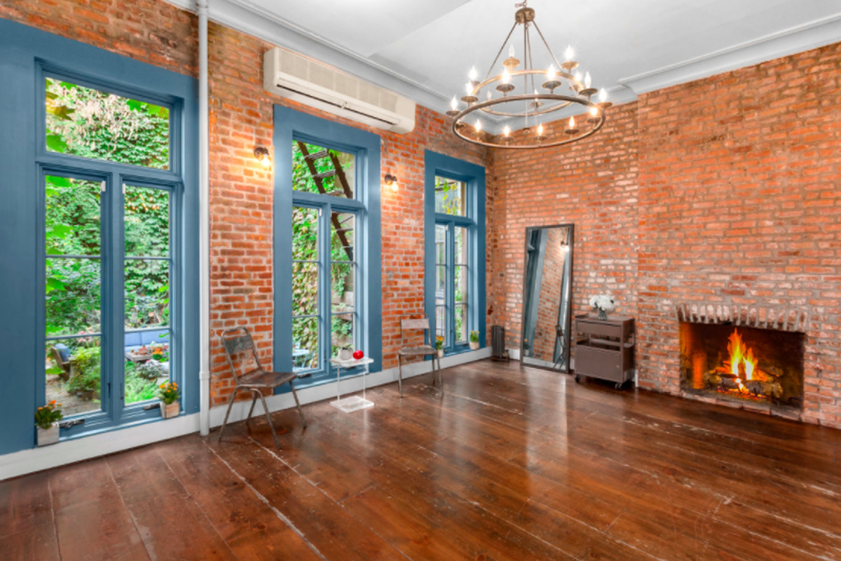 178 year old west village townhouse with verdant backyard for West village townhouse for sale