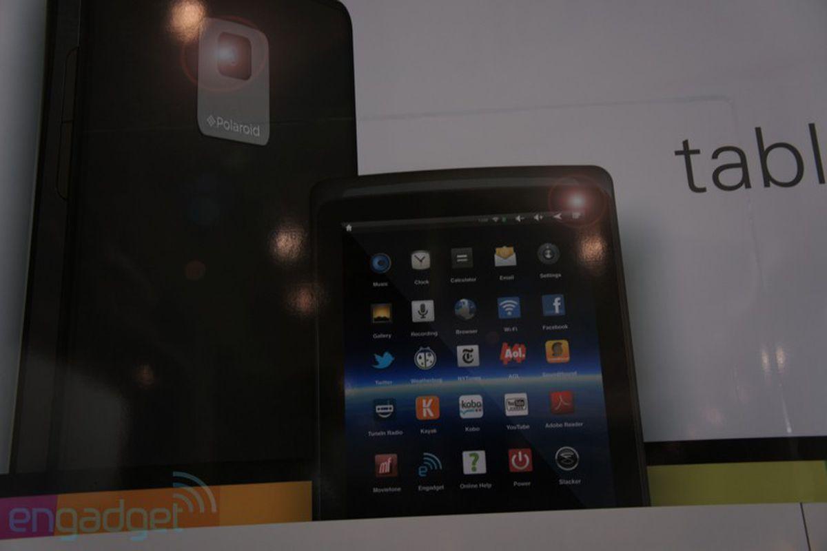Polaroid Tablet Engadget