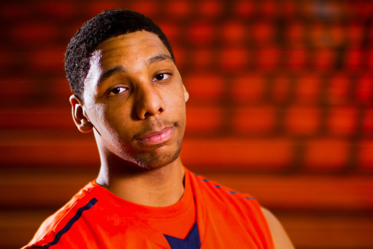 Top 2014 prospect Jahlil Okafor was one of many high schoolers in Lexington.