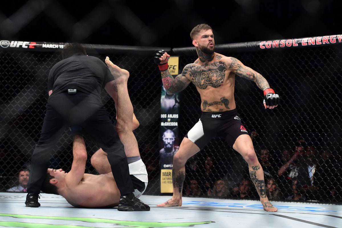 MMA: UFC Fight Night-Garbrandt vs Mendes