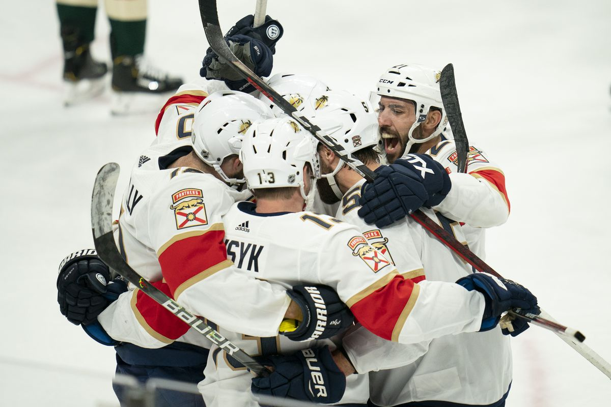 The Minnesota Wild give up a late goal and lose to the Florida Panthers