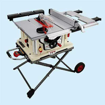 Jet JBTS-10MJS With Stand Portable Table Saw