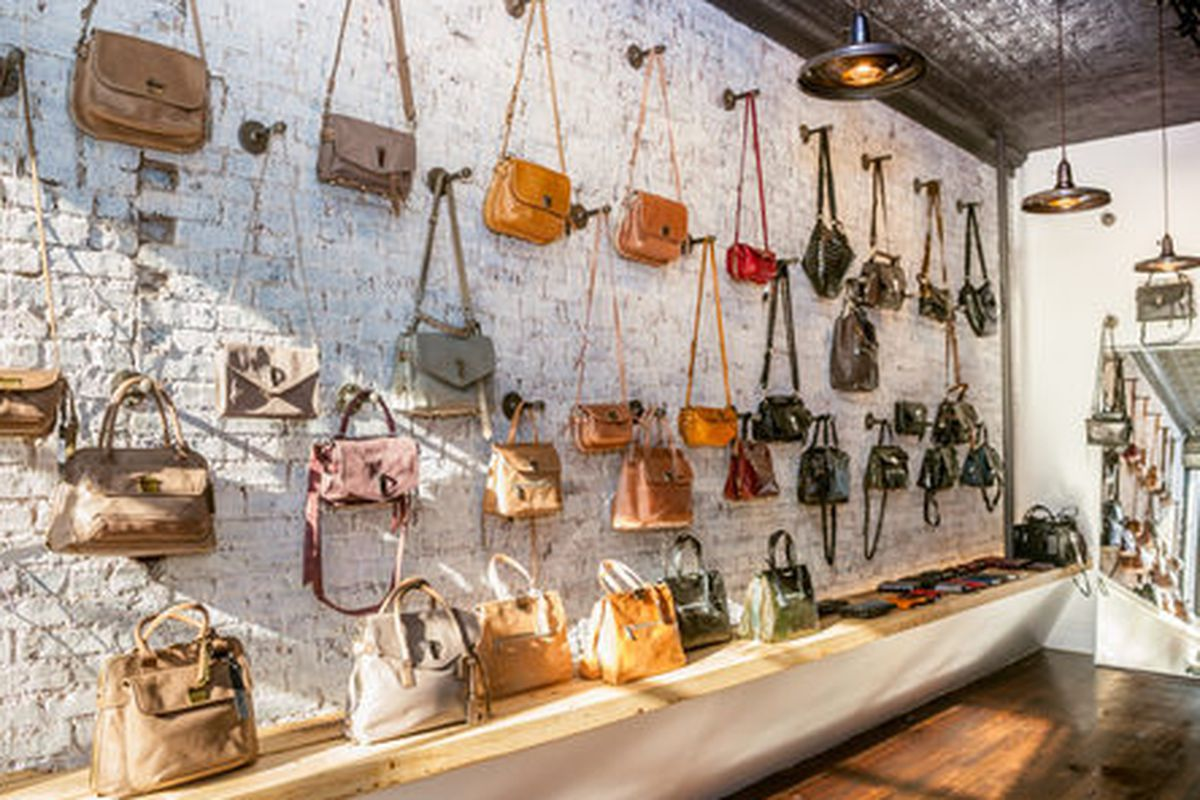 """Inside the Joy Gryson store in Boerum Hill; Photo by <a href=""""http://peladopelado.com"""">Driely S.</a> for Racked"""