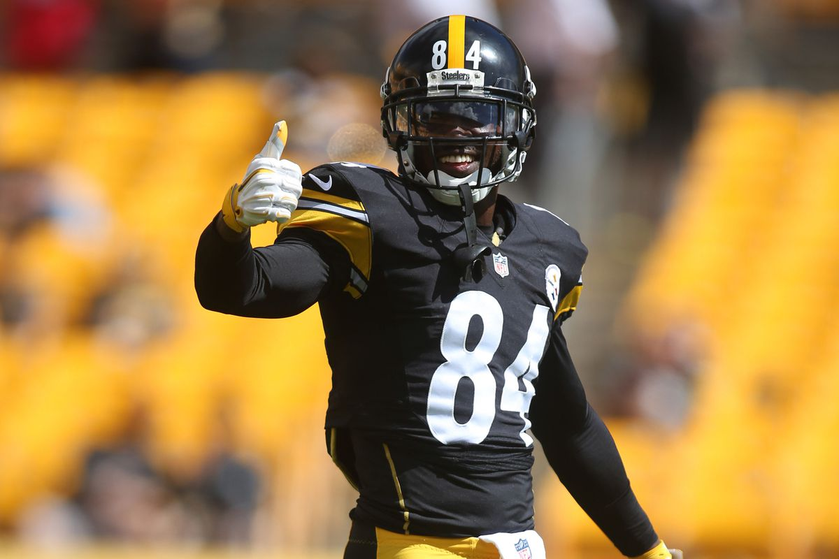 new concept b1a6b ee5d4 Can Jets WR Brandon Marshall win his bet with Steelers WR ...