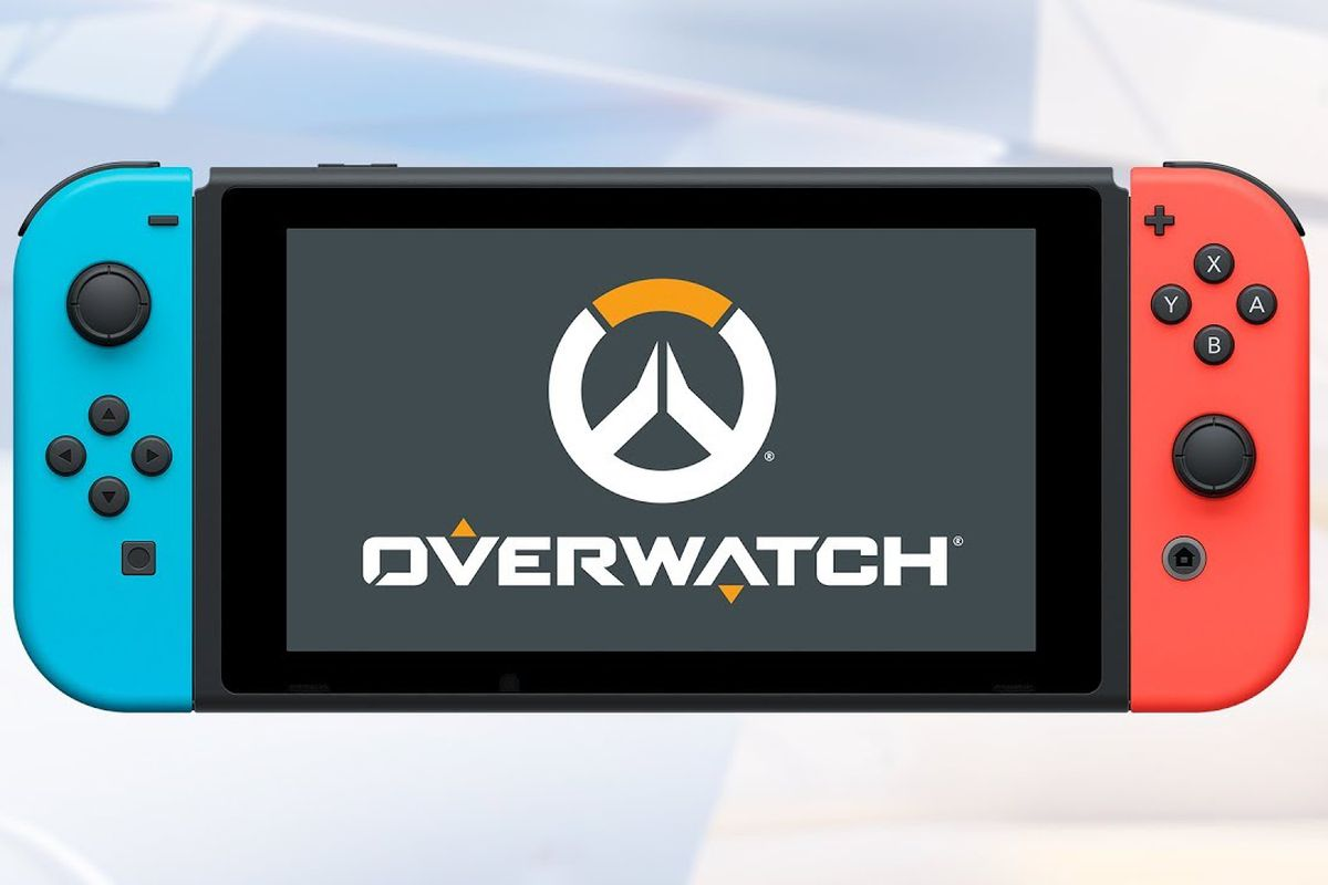 The Switch Turns Overwatch Into A Great Second Screen Game The Verge