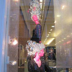 Headpieces at Bloomingdale's
