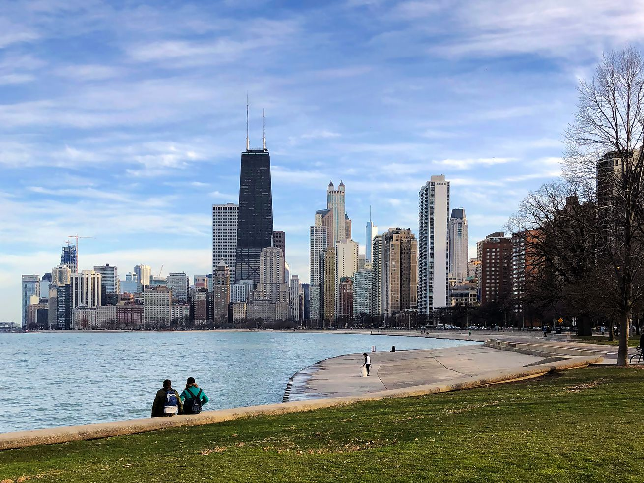 Lake Michigan in Chicago.
