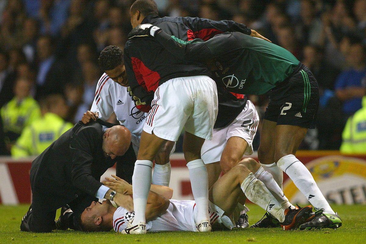 Schevchenko's winning penalty saw Milan claim their 6th European cup ahead of rivals Juventus