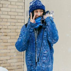 """Photo by Driely S. for <a href=""""http://racked.com/archives/2014/02/14/45-street-style-snaps-from-the-blizzardy-nyfw-day-8.php"""">Racked National</a>"""