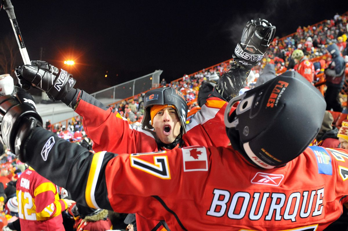 NHL Heritage Classic - Montreal Canadiens v Calgary Flames