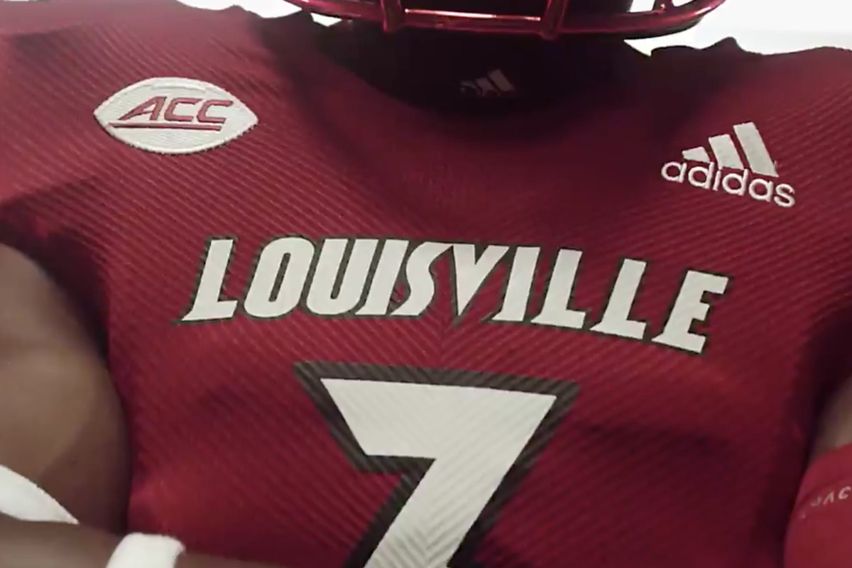 finest selection cd514 bcf16 First Look: Louisville's 2018 football uniforms - Card Chronicle