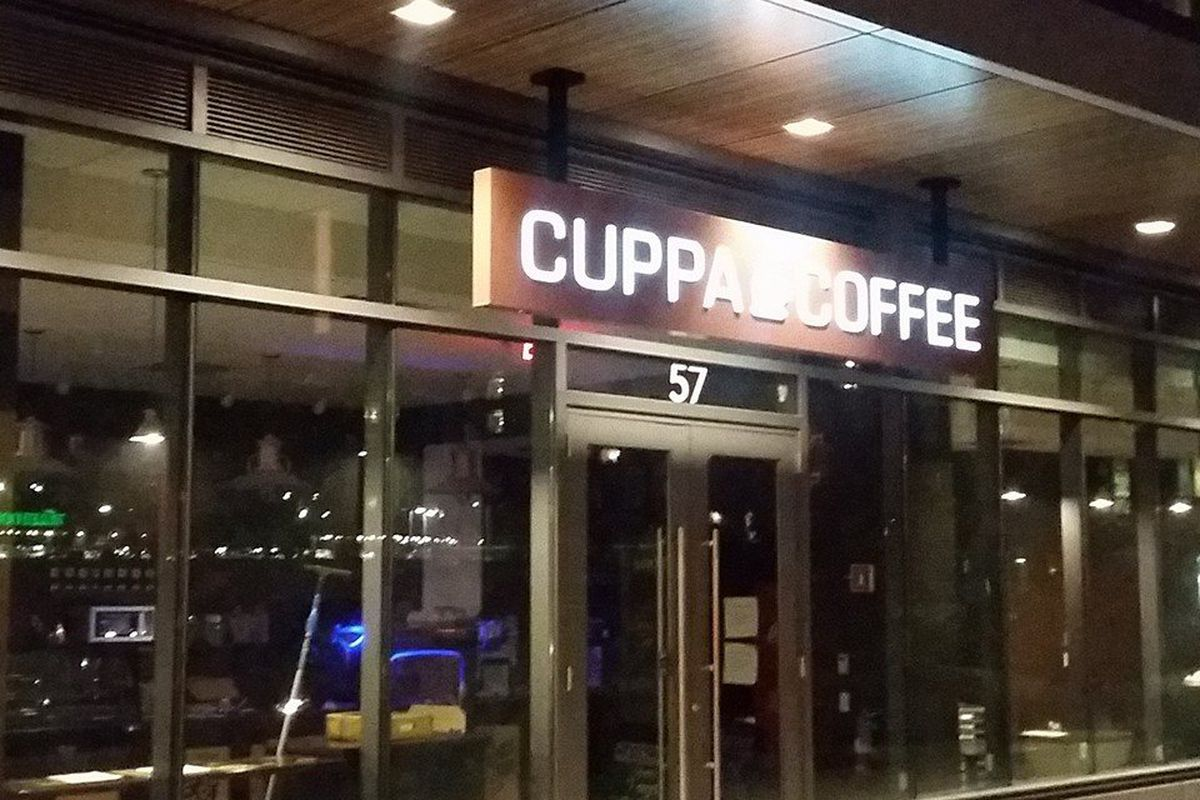 Cuppacoffee at Troy Boston