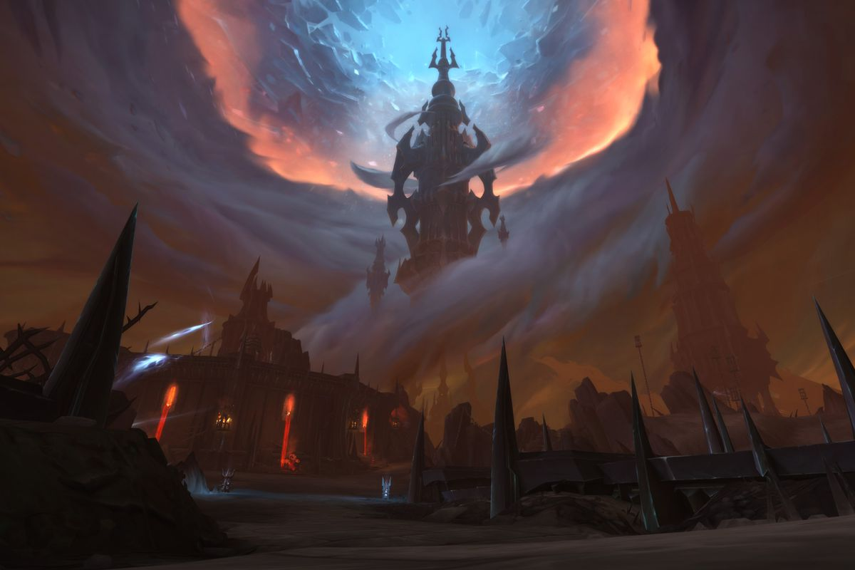 The Maw zone in World of Warcraft Shadowlands