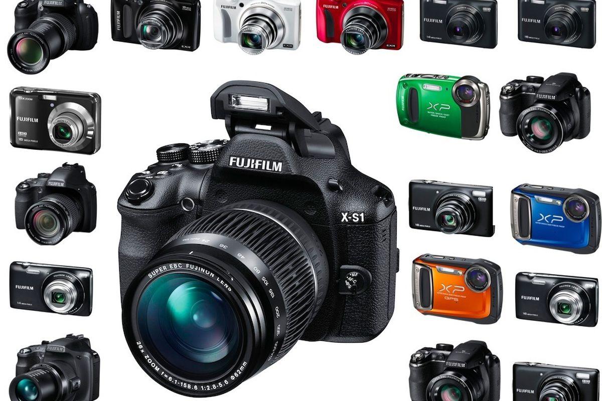 Fuji X-S1 and camera line