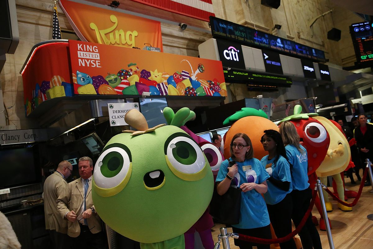 Makers of Popular Candy Crush Game Make Public Debut On New York Stock