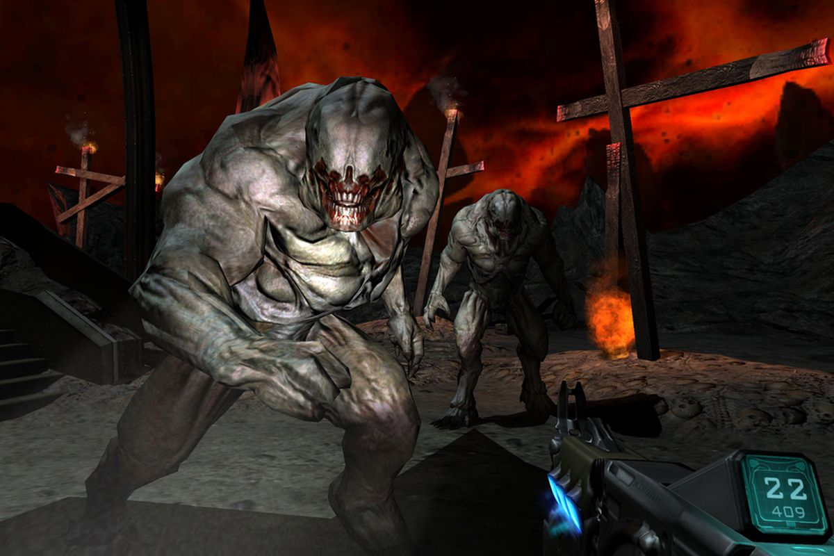 The original Doom 3 has been r...