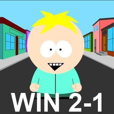 WIN, 2-1