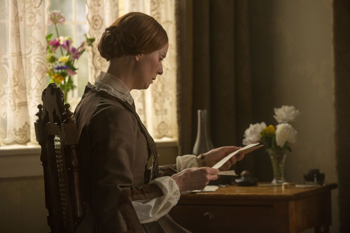 Cynthia Nixon plays Emily Dickinson in A Quiet Passion