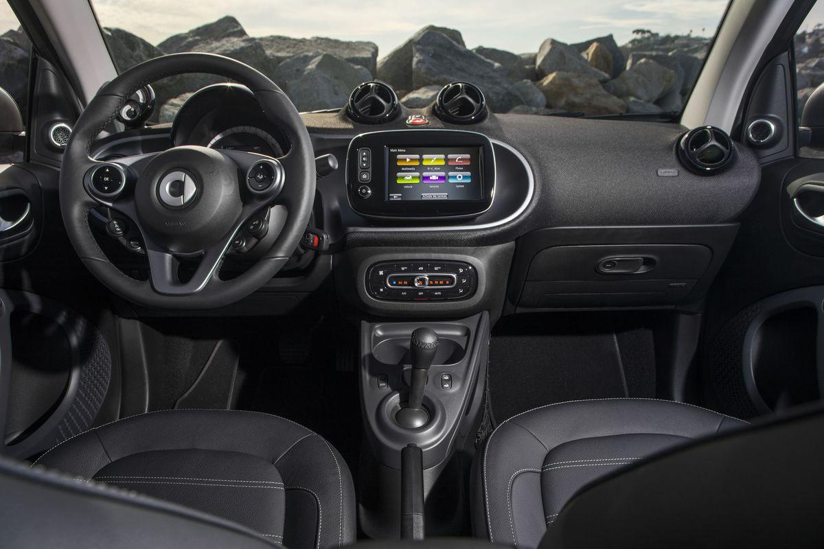 The Smart car goes electric before it plans its autonomous future ...