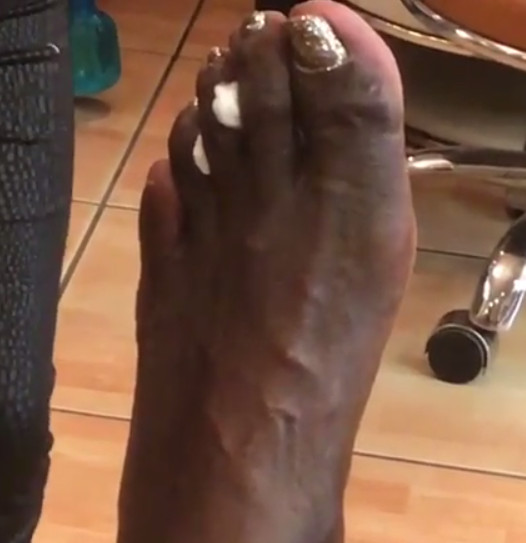 Shaq Took His Horrifying Big Toe To Get A Pedicure And Put It On