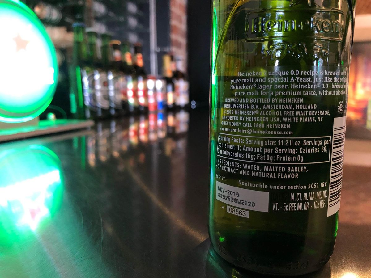 """Nonalcoholic drinks are on the rise thanks in part to """"sober"""