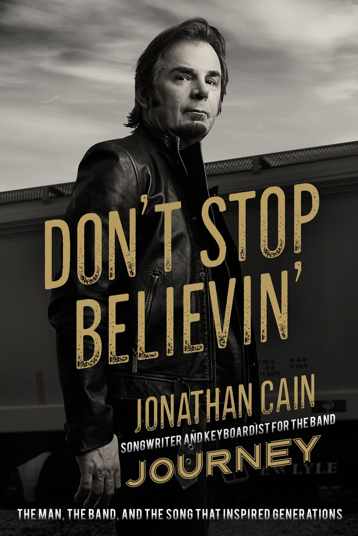 """The cover of """"Don't Stop Believin' """" by Journey keyboardist Jonathan Cain."""
