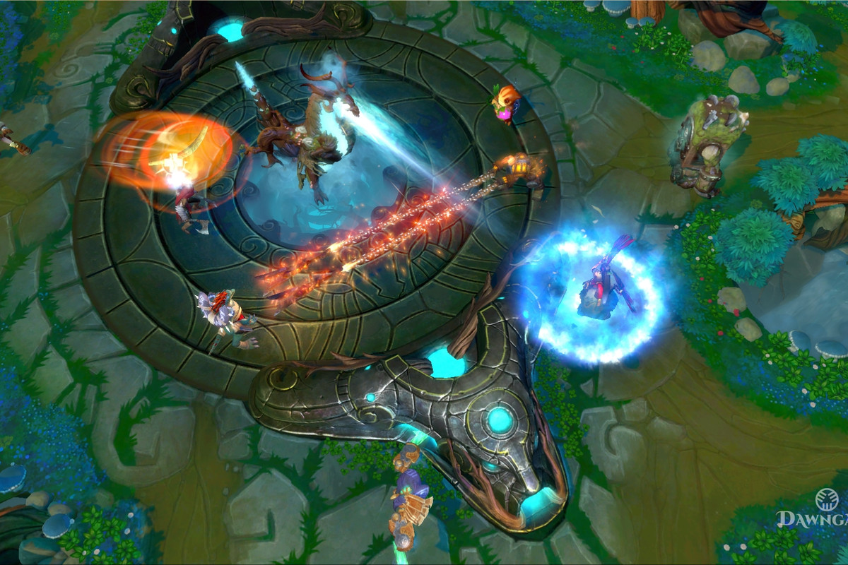 dawngate ea s version of league of legends canceled after six