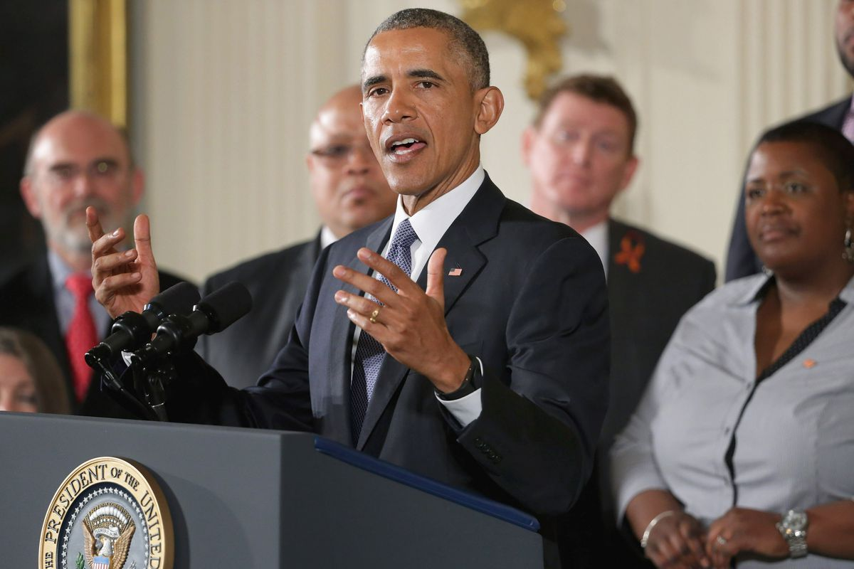 President Obama announces his new executive actions on guns.