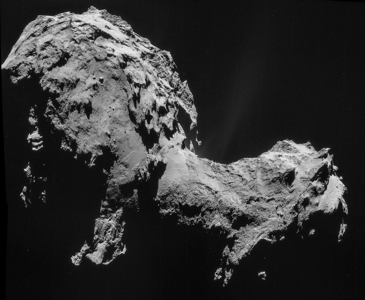 rosetta comet 2