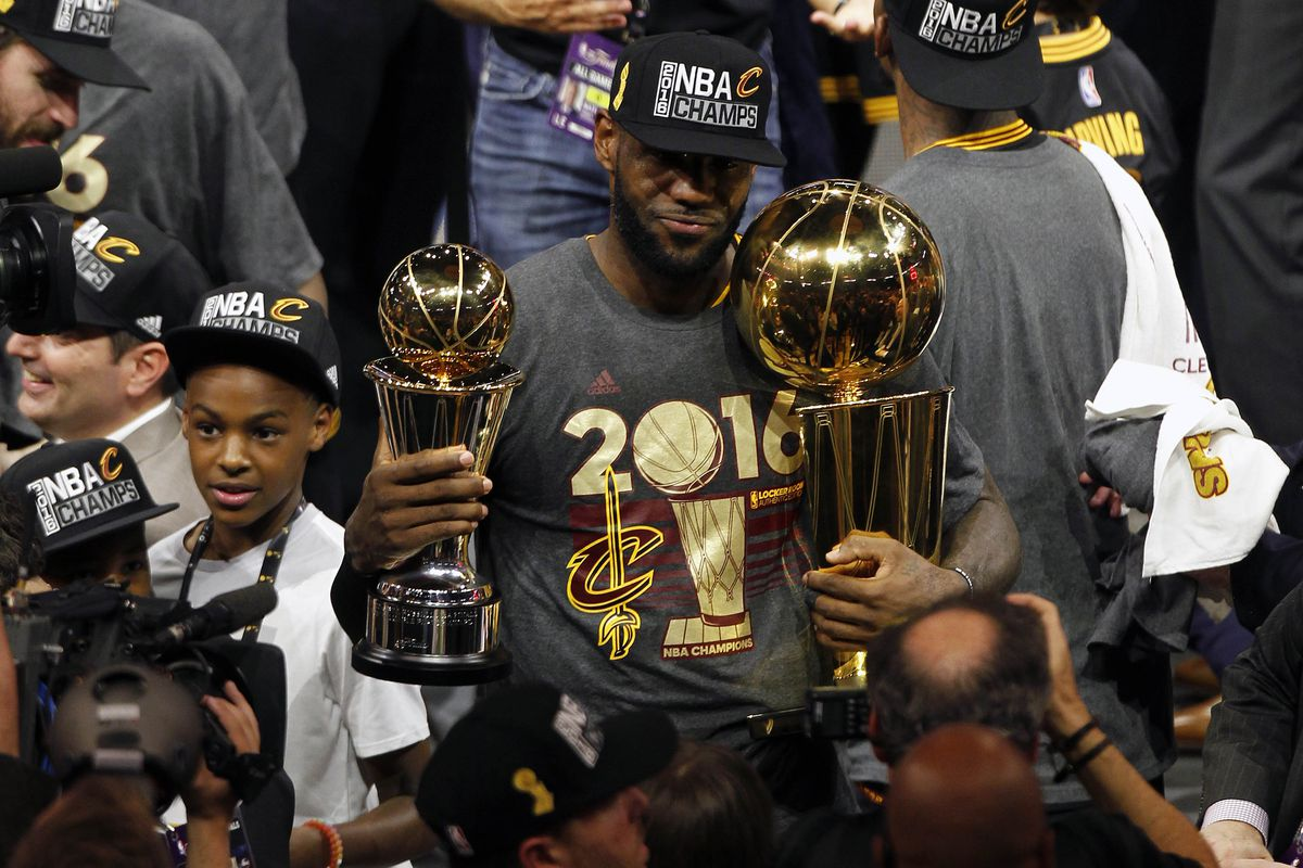 Celebrate the Cavaliers  title with the latest NBA championship hats ... e27a19ed4b0