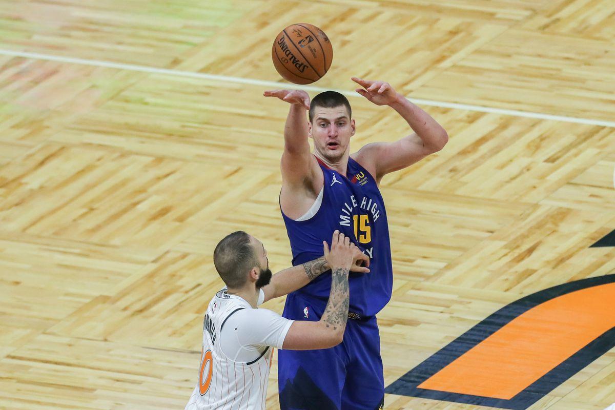 Denver Nuggets v Orlando Magic