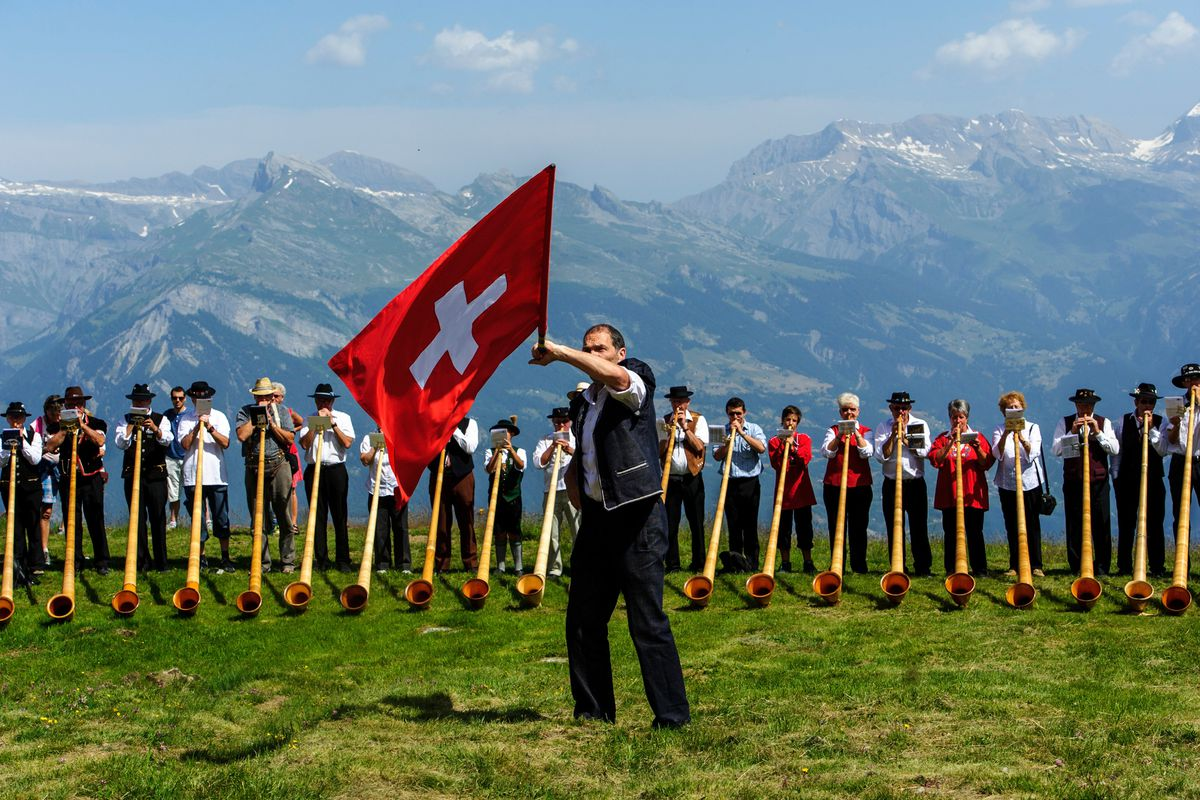 If those horn players aren't getting paid well, the Swiss minimum wage proposal would have really helped them a lot.