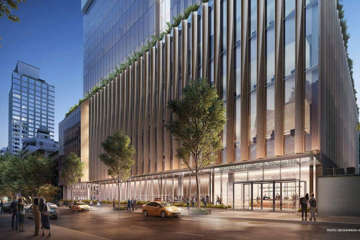 The New York Blood Center has proposed a 16-story development to replace their building on East 67th Street.