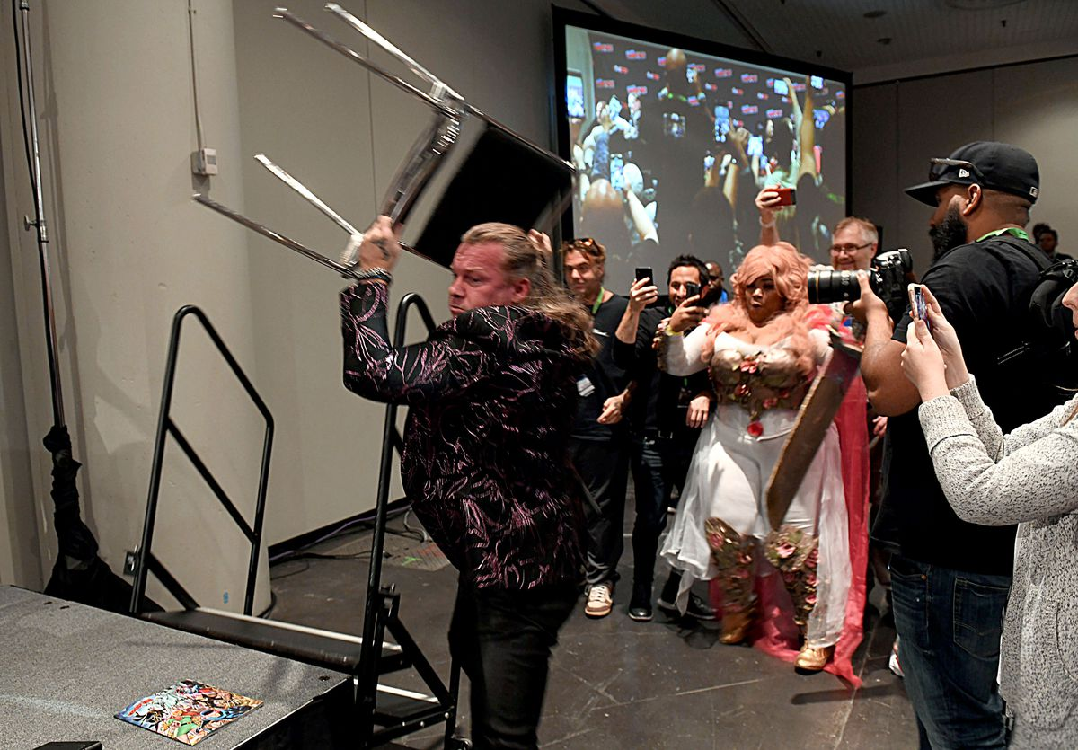 AEW On TNT At New York Comic Con 2019