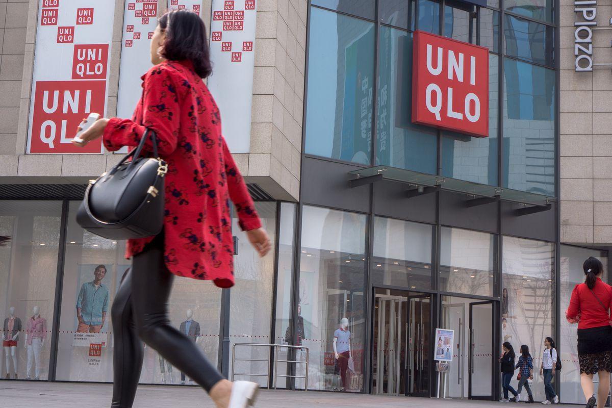 A Uniqlo store in Japan. Photo: Getty